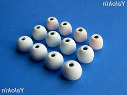 12pcs S/M/L White Hybrid Replacement Ear-tips buds for Sony