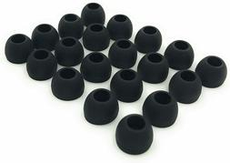 20PC Silicone Replacement Earbud Earbuds Premium Ear Tips -