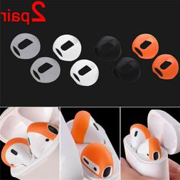 2Pair Premium Silicone Antislip Earbuds Ear Bud Tips for App
