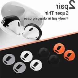 2Pairs Silicone Antislip Ear Tips Case Cover For Apple Earph