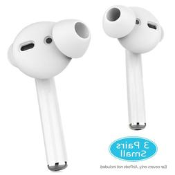 3 Pairs Earbuds Covers Anti Slip Ear Tips Silicone Compatibl