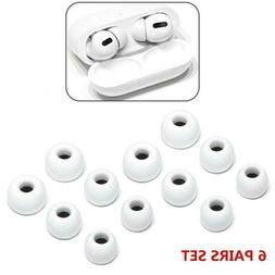 6Pair/set Replacement Ear Tips Buds For Apple Airpods Pro He