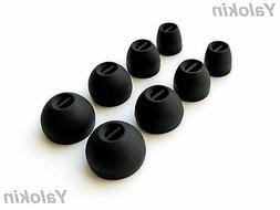 8pcs XS/S/M/L  Replacement Ear Tips Adapters for Sennheiser
