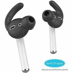 AhaStyle 2 Pairs AirPods Ear Hooks Tips Earbuds Covers Added
