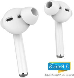 AhaStyle 3 Pairs AirPods Ear Tips Silicone Earbuds Cover?Not