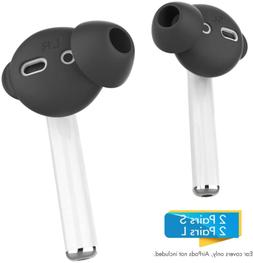 AhaStyle 4 Pairs AirPods Ear Tips Silicone Earbuds Cover?Not
