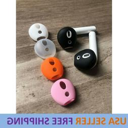 Anti Slip Earphone Tips Silicone Case Cover Earbud For Apple