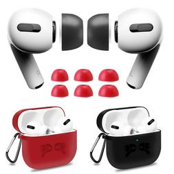 For Apple Airpods Pro Memory Foam Ear Tips Earbuds / Silicon