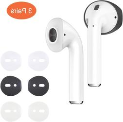 {Fit in Case}Silicon airpods Tips Ear Skins and Covers  Anti