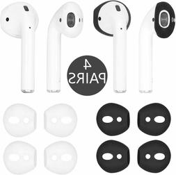 Iiexcel Fit In Case Eartips For Airpods, 4 Pairs Replacement