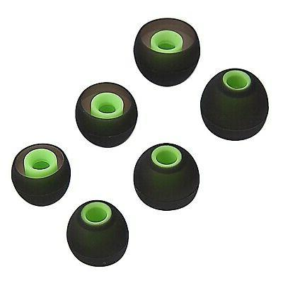 12PCS Replacement Ear Earbuds Eartips Eargels Soft