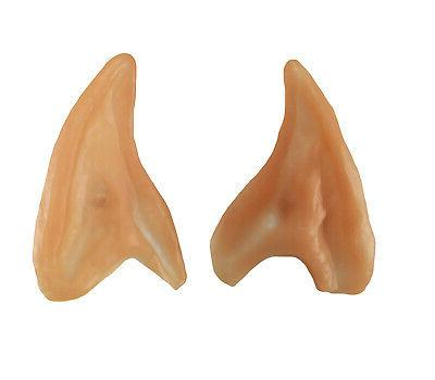 Small Elf Ears Pointed Ear Tips Alien Spock Costume Cosplay
