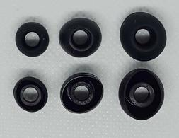 Replacement Ear Buds Skullcandy Compatible 6pc. 3 Sizes Blac