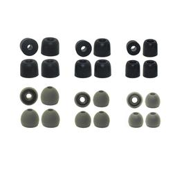 Replacement Earbud Tips Audio-Technica Silicone & Memory Foa