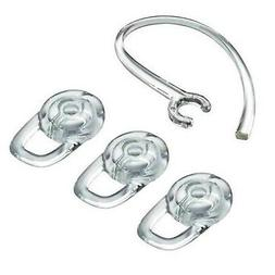 Replacement Earbuds 3 Piece Medium Ear Gels Tips w/Clear Ear