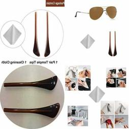 Replacement Temple Tips Ear Socks For Ray Ban Aviator RB3025