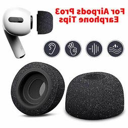 Silicone Memory Foam Replacement Ear Tips Buds Accessory For